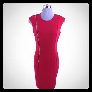 Calvin Klein zip sheath dress size 16